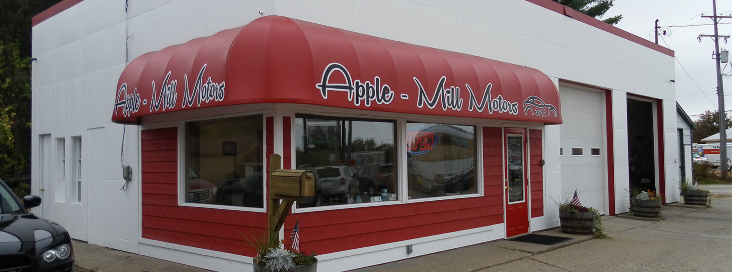 Apple Mill Motors Storefront